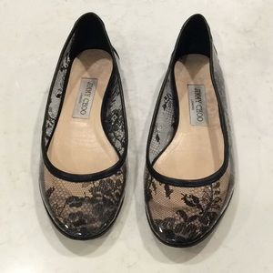 Jimmy Choo Flats (only worn twice!)